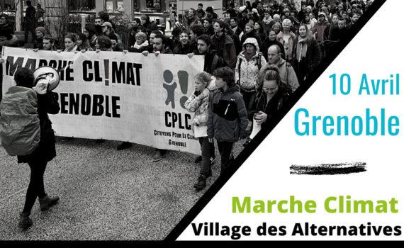 Marche des alternatives 10 avril 2021 Grenoble marche climat
